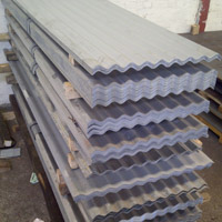 Packs of Galvanised Corrugated Steel Roof Sheets
