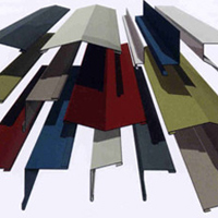 collection of roof sheet flashings